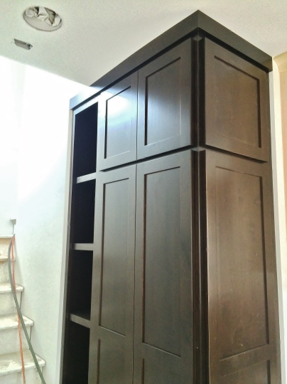 entry closet Kimberly Dahlen Design, Inc.